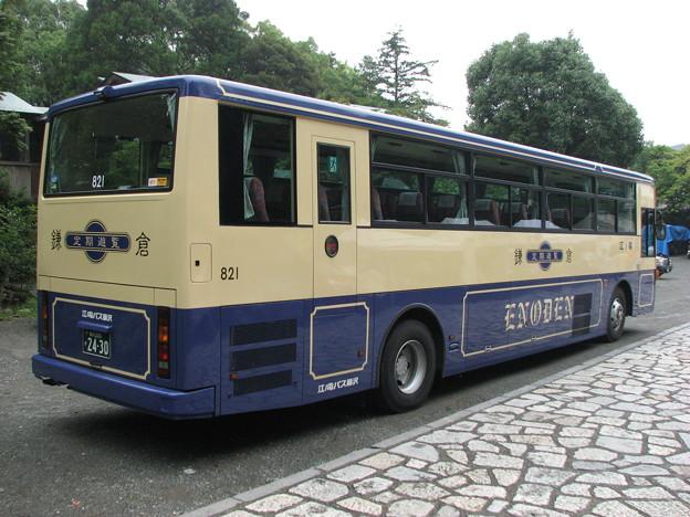 #6986 江ノ電バスC#821 2009-8-2