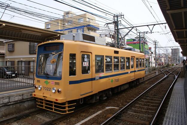 #7021 都電C#7022 2013-2-17