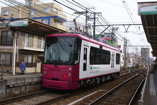 #7027 都電C#8801 2013-2-17