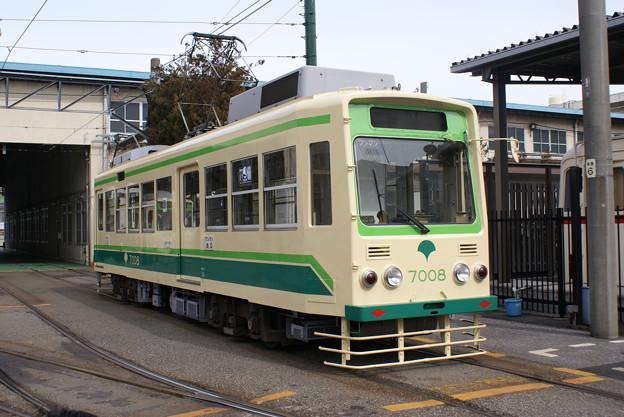 #7031 都電C#7008 2013-2-17