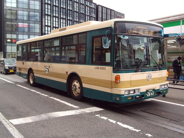 Photos: #7089 JRバス関東L538-02503 2015-1-1