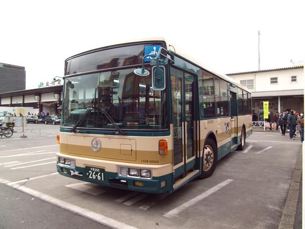 #7090 JRバス関東L538-02503 2015-1-1