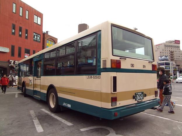 Photos: #7091 JRバス関東L538-02503 2015-1-1