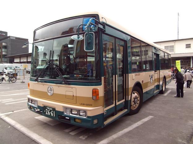 Photos: #7092 JRバス関東L538-02503 2015-1-1