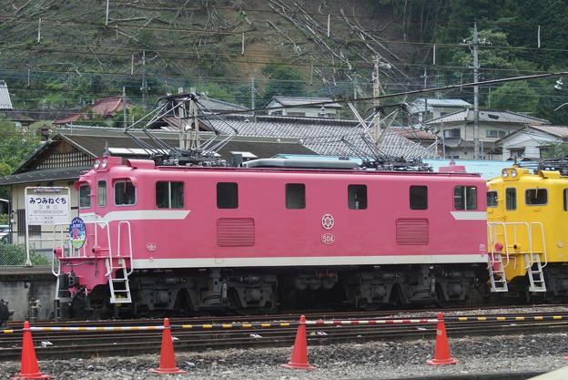 #7158 秩父鉄道デキ504 2020-8-1