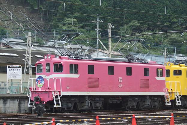 #7159 秩父鉄道デキ504 2020-8-1