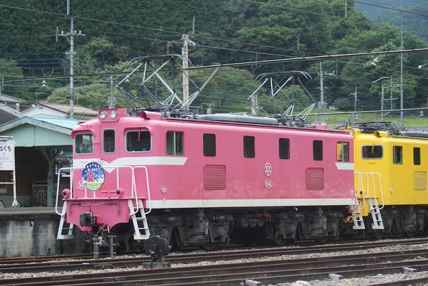 #7160 秩父鉄道デキ504 2020-8-1