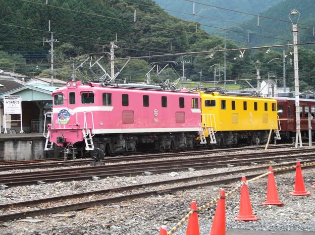 Photos: #7234 秩父鉄道デキ504+デキ502+12系 2020-8-1