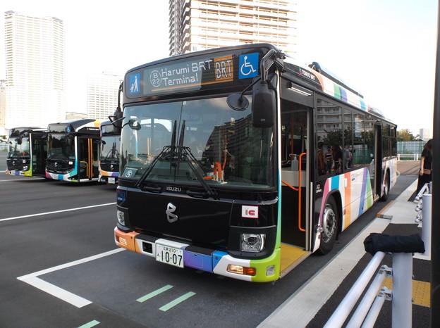 #7329 京成バス(東京BRT)C#1007 2020-10-1