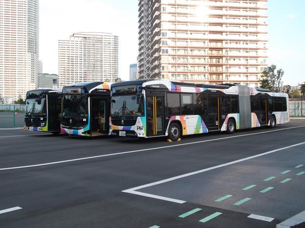 #7331 東京BRT C#1008・1002・1009 3並び 2020-10-1