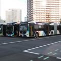 Photos: #7331 東京BRT C#1008・1002・1009 3並び 2020-10-1