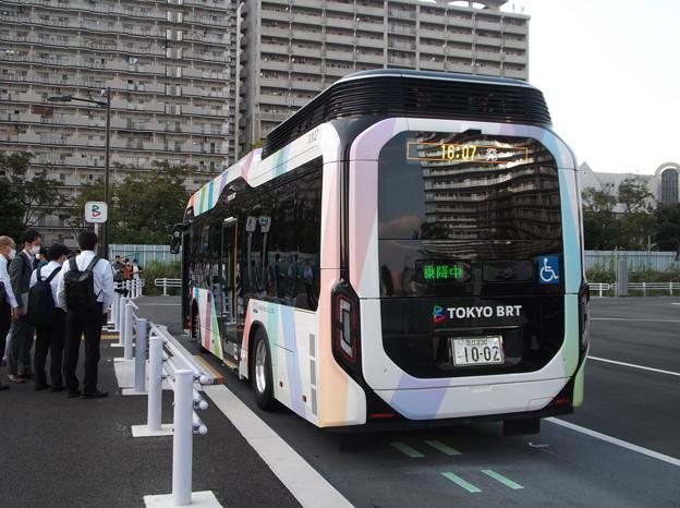 #7332 京成バス(東京BRT)C#1002 2020-10-1