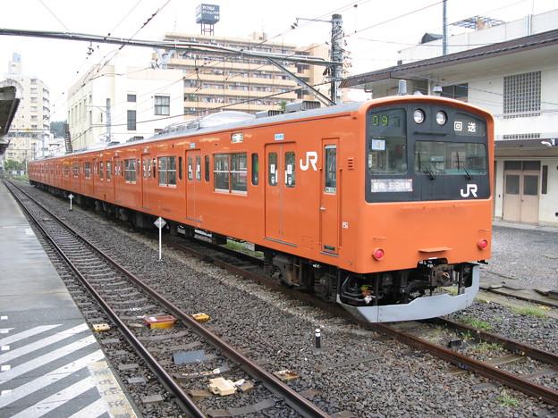 #7393 201系 八トタ青4F 2007-9-23