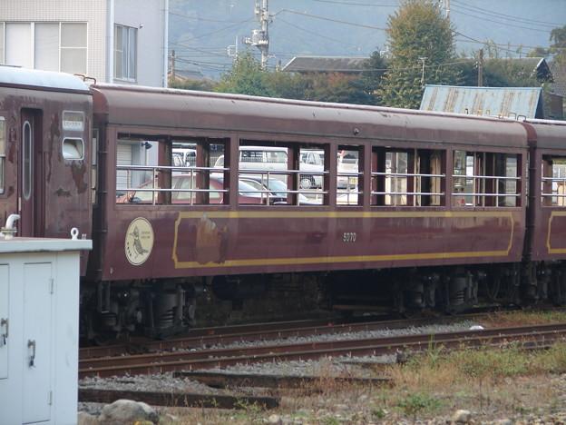 Photos: #7419 わたらせ溪谷鐵道わ99-5070 2006-10-28