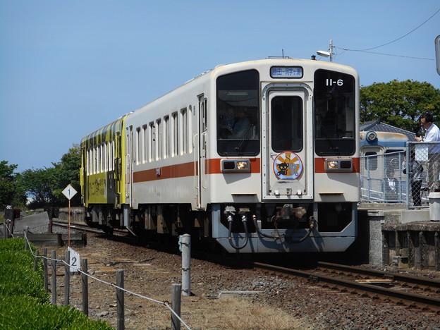 #7615 ひたちなか海浜鉄道キハ11-6+キハ11-7 2016-5-15