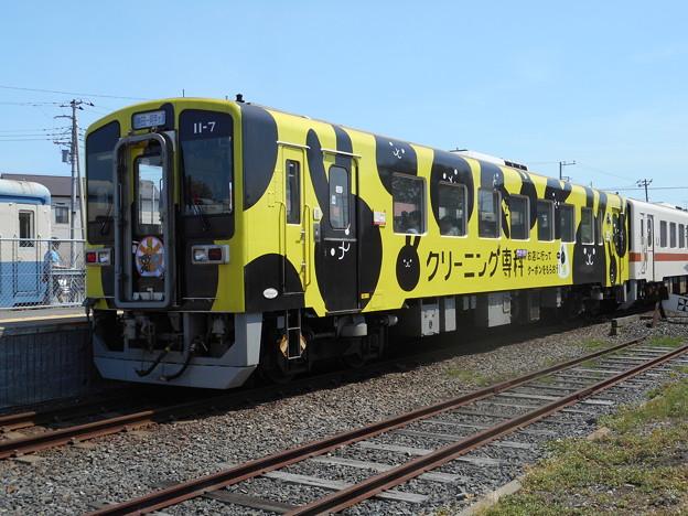 #7618 ひたちなか海浜鉄道キハ11-7 2016-5-15