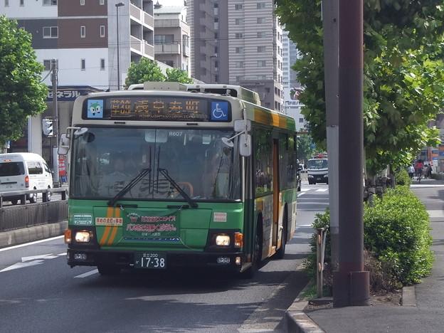 #7637 都営バスZ-R607 2011-7-25