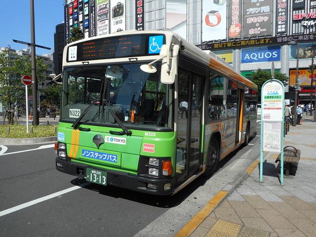 #7663 都営バスP-N322 2016-6-2