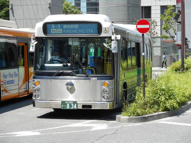 #7665 都営バスK-L654 2016-6-3