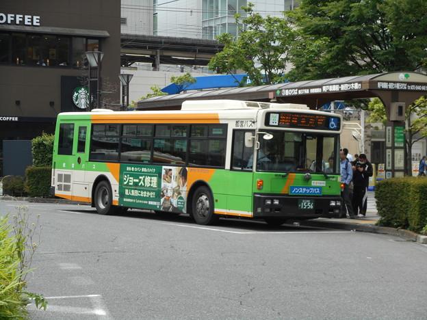 #7666 都営バスK-P523 2016-6-6