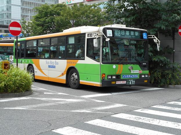 #7667 都営バスK-H174 2016-6-6