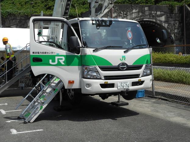 #7676 軌陸車 横浜800ち7676 2016-6-11