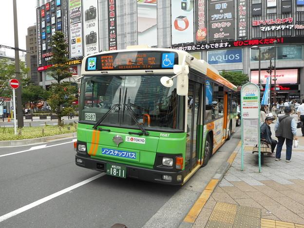 #7685 都営バスP-R587 2016-6-14