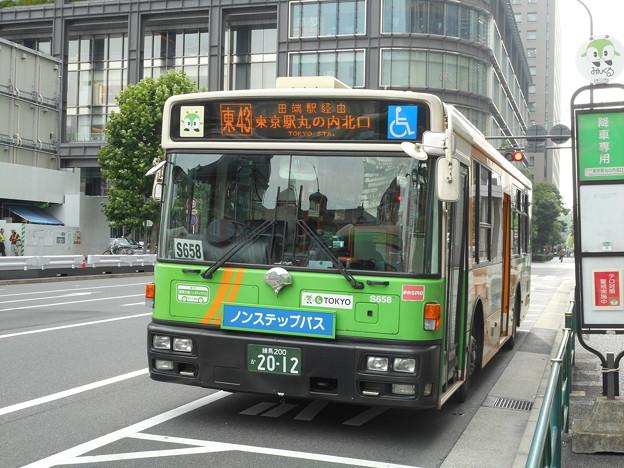 #7692 都営バスN-S658 2016-6-20