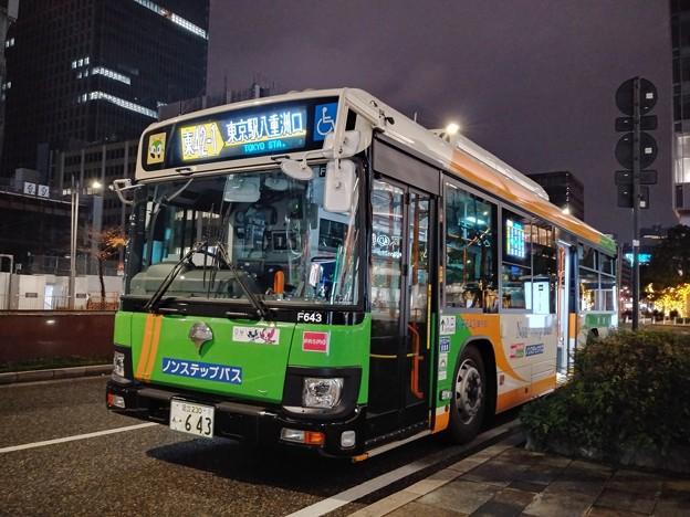 #7700 都営バス K-F643 2020-12-5
