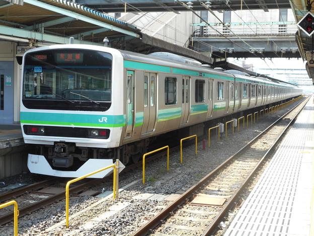 #7737 常磐線E231系 東マト117F 2016-5-15