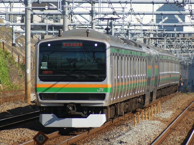 #7755 E231系 横コツK-01F 2019-12-8