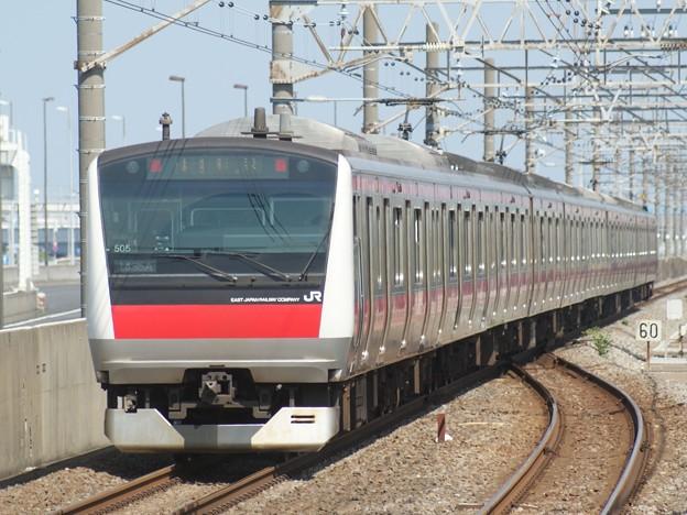 #7762 京葉線E233系 千ケヨ505F 2020-6-7