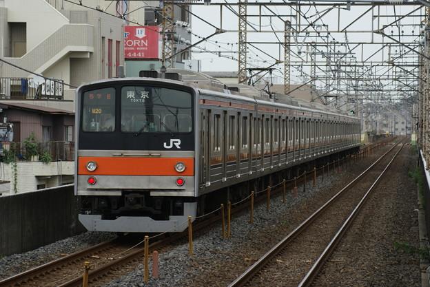#7849 武蔵野線205系 千ケヨM20F 2016-7-3