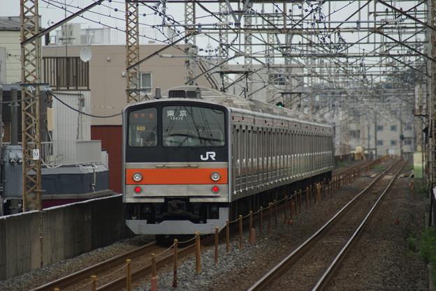 #7850 武蔵野線205系 千ケヨM20F 2016-7-3