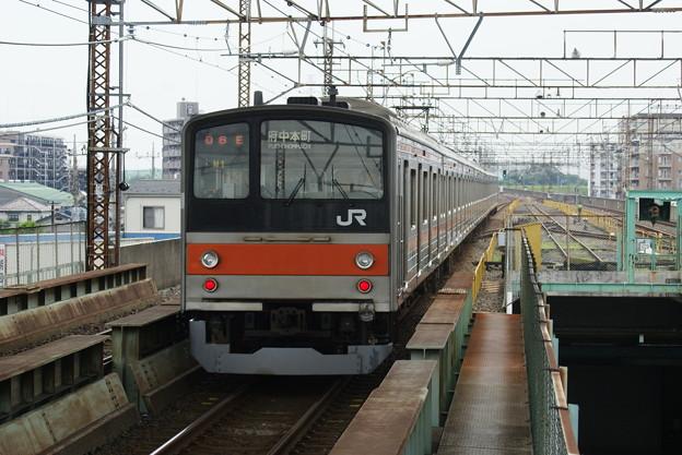 #7851 武蔵野線205系 千ケヨM1F 2016-7-3