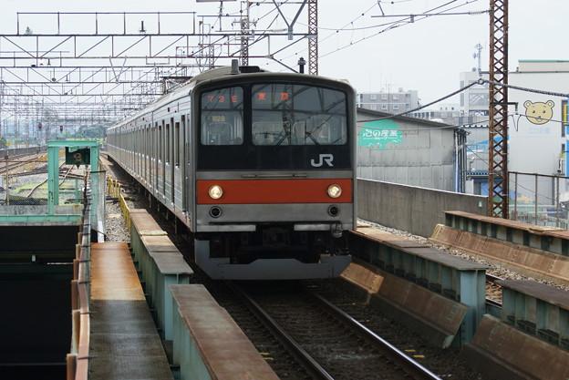 #7853 武蔵野線205系 千ケヨM28F 2016-7-3