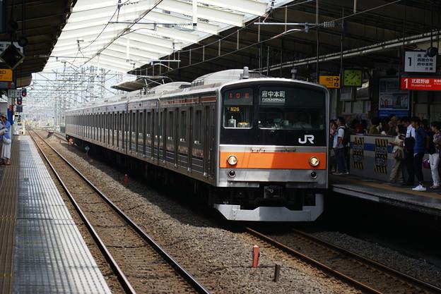 #7855 武蔵野線205系 千ケヨM26F 2016-7-3
