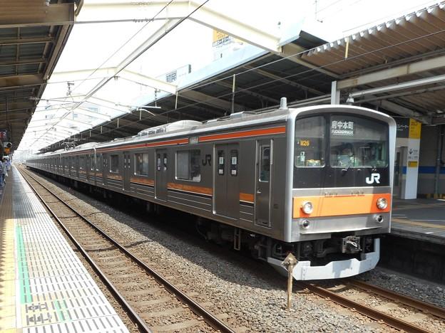 #7868 武蔵野線205系 千ケヨM26F 2016-7-3