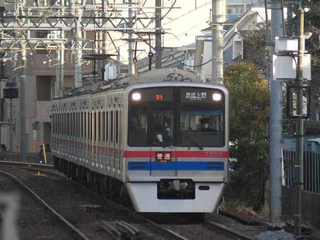 #7919 京成電鉄3838F 2021-1-9