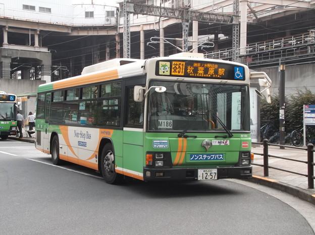 #7929 都営バスP-M186 2020-7-31