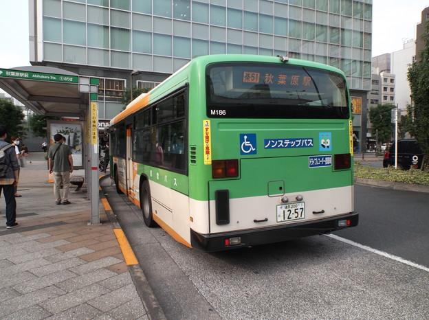 #7931 都営バスP-M186 2020-7-31