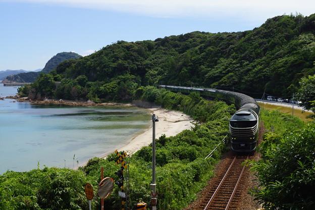 JR西日本 山陰線 瑞風