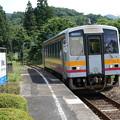 JR西日本 芸備線 秘境駅 道後山駅