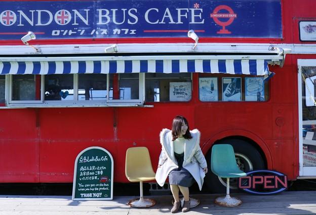 Photos: ロンドンバスカフェで
