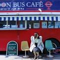 ロンドンバスカフェで