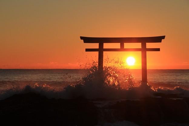 Photos: お日の出さま
