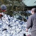 Photos: だるま焼き住職