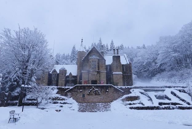 雪のロックハート城