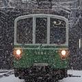 Photos: 雪に耐える地下鉄40年選手