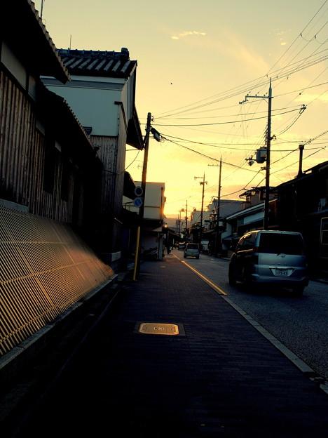 Photos: 秋は夕暮れ~